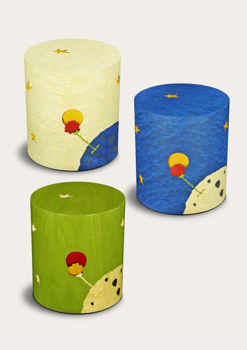 außergewöhnliche Urnen mit Motiven aus dem kleinem Prinzen